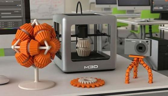 Micro 3d la primera impresora 3d que aspira a llegar a for Primera impresora 3d